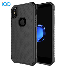 IQD For iPhone X Case Bumper Cover TPU Protective phone Anti-Scratch Resistant Covers beautiful durable For Apple X Cases new(China)