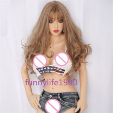 NEW 165cm Top quality Lifelike Silicone Sex Dolls With Big Breast Real Love Doll Artificial Vagina Real Pussy Sexy Toys
