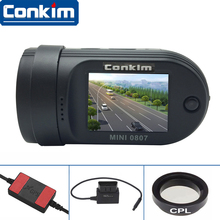Car DVR Mini 0807 Camera DashCam (Upgraded MINI 0805) Amba A7LA50Chip IMX322+GPS+Parking Monitor+Dual CardsRecording+OBD-II+CPL