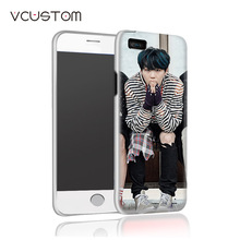 vcustom New multi styles Bangtan Boys BTS white hard cases for IPHONE 5C phone case(China)