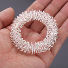 Wholesale Price 25pcs Head Acupuncture Massager Ring Acupuncture Finger Massager Wrist Massage Ring