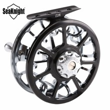 SeaKnight New Top Quality Maxway Elite 3BB 137g 7003-T6 Aluminum Full Metal 5/6 # Fly Fishing Reel Fish Wheel Fly Reel With Bag