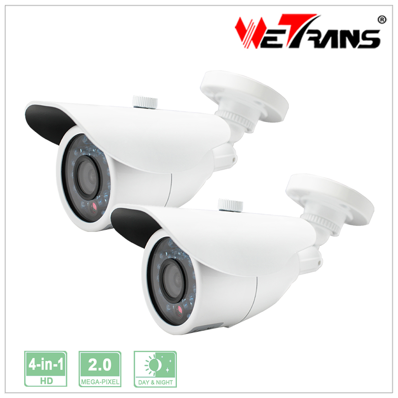Video Surveillance Cameras Onvif 1080P Waterproof Outdoor Bullet Camera 4 in 1 HD Camera Support UTC Control  2pcs/lot<br><br>Aliexpress