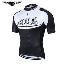 Weimostar Evolution Cycling Jersey Men Summer Downhill Bicycle Cycling Clothing Ropa Ciclismo Quick Dry MTB Bike Jersey Shirt