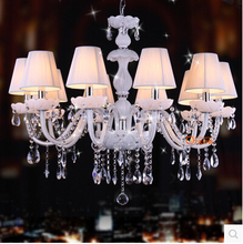 European style chandelier white LED lamp sitting room dining-room Chandelier