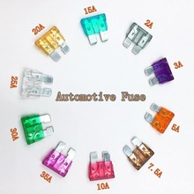 Auto Automotive Car Fuses 2A 3A 5A 7.5A 10A 15A 20A 25A 30A 35A Assortment Auto Blade Fuse