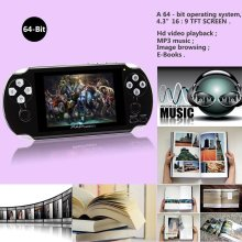 CoolBaby New PAP Gameta II 4.3 Inches 64 Bit Vedio Gaming Console Support wireless controller MP5 Handheld Game Players(China)