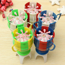 Hot Sale 1pc Musical Football Cup Flame Happy Birthday Cake Party Gift Lights Decoration Candles Lamp Surprise V4060
