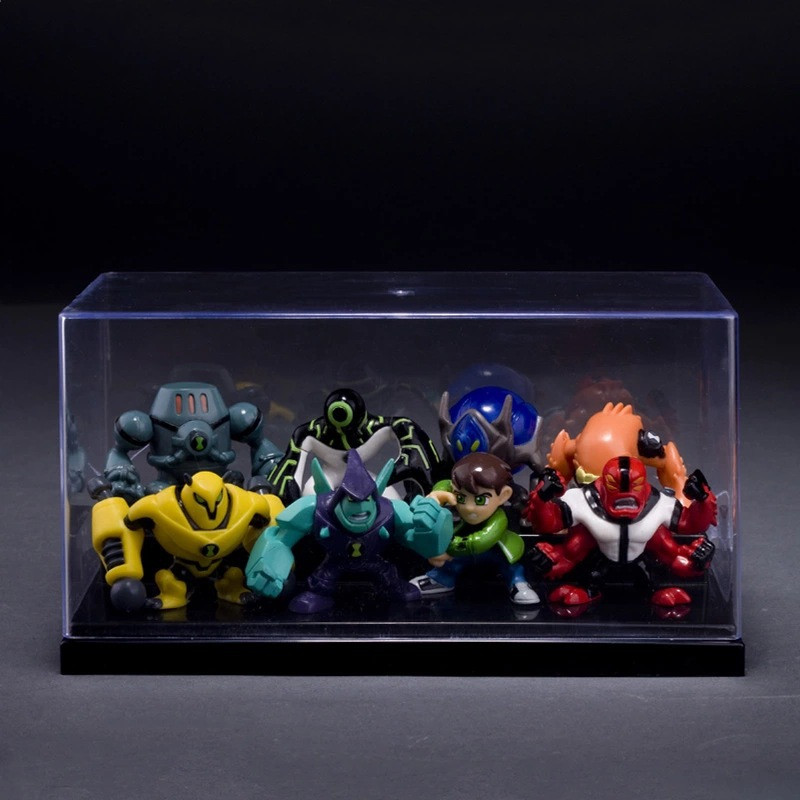8Pieces-5CM-Ben-10-new-high-quality-Protector-of-Earth-Family-Action-Figures-Brinquedos-Toys-free (2)