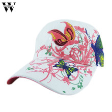 Womail 2017  summer Embroidered Baseball Cap women Lady Fashion Shopping Cycling visor sun Hat Cap