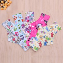 1pcs Colorful Charcoal Bamboo Cloth Reusable Menstrual Sanitary Maternity Mama Pads