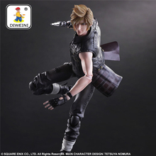 DIWEINI Play Arts Kai Final Fantasy Figure Final Fantasy VII Cloud Strife Figure PA 27cm PVC Action Figure Doll Toys Kids Gift