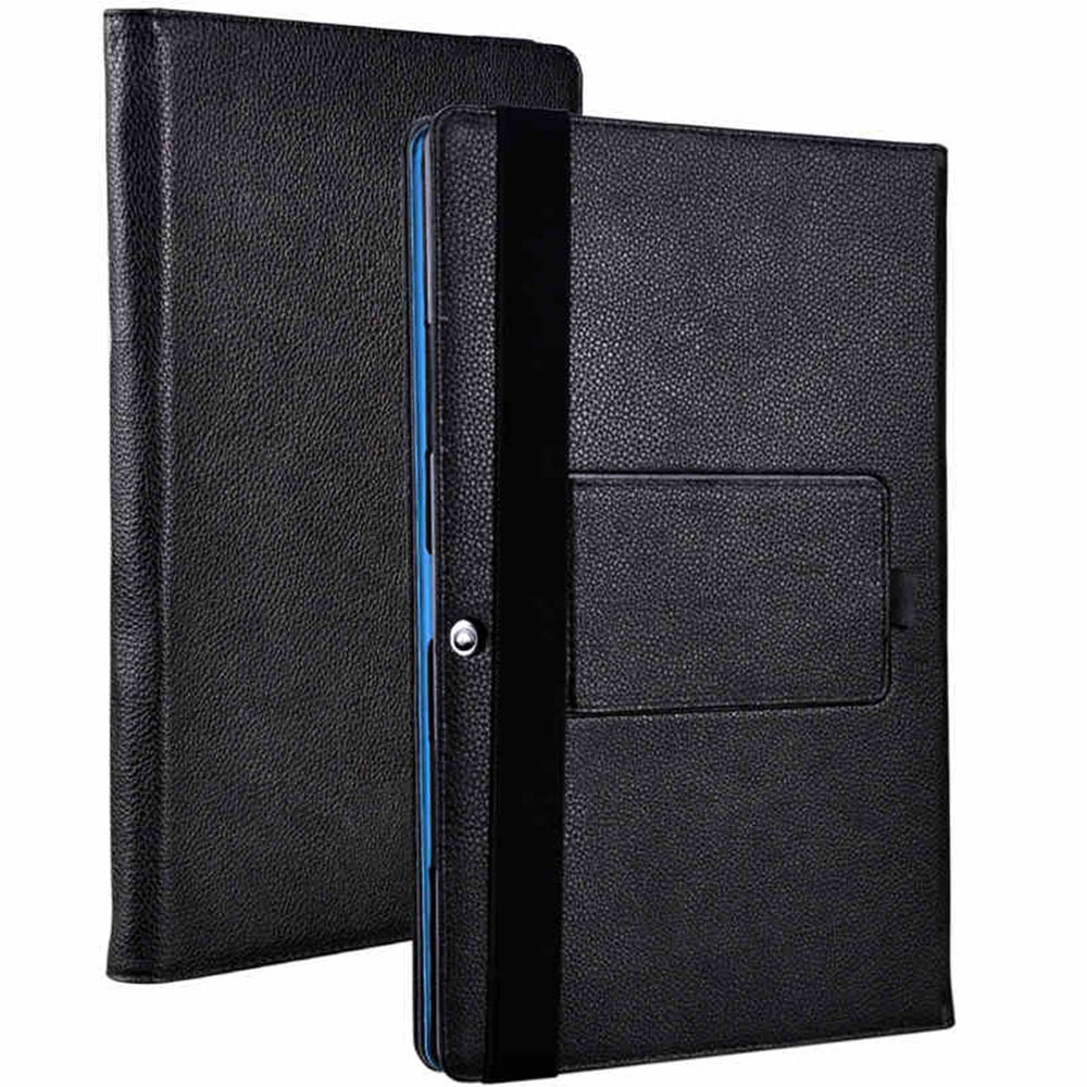 Litchi Pattern PU Leather Folding Folio Cover Case for Teclast X3 Plus for 11.6'' Tablet PC Cover Case(China (Mainland))