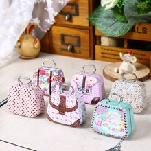AIBEI-ZAKKA Handbag Storage Jewelry Decorative Tin Box 6PCS/LOT Mini Candy box Creative wedding Favor Boxes gift