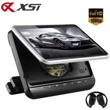 XST 10.1 inch Car Headrest Monitor HD 1080P Video Digital TFT LCD Screen Touch Button DVD Player with HDMI/USB/SD/IR/FM/Game(China)