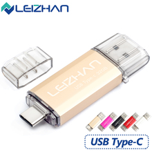 LEIZHAN Android 3.1 Type-c USB Flash Drive Memory Stick 16G USB Flash Stick 32G OTG TypeC USB 3.0 Pen Drive High Speed Pendrive