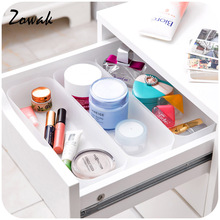 Drawer Storage Organizer Refrigerator Silverware Tray Kitchen Tableware Cabinet Container Drawers Semitransparent Organize Home(China)