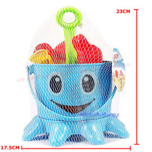 Portable Cute Child Beach Toy Large Hourglass Sand Tools Baby Bath Toys Set