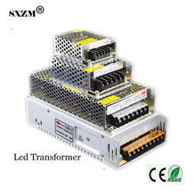 SXZM LED transformer DC12V2A 3A 5A 8.5A 10A 15A 20A 30A 40A indoor power supply for 3528 5050 led strip light(China)