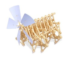 BOHS Theo Jansen Mini Walking Strandbeest Miniature Beasts Artificial Intelligence 14*20*17cm, No Retail Box(China)