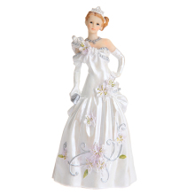 Gorgeous Fairytale Bride Cake Toppers Wedding Cake Topper For Wedding Party Resin Craft(China)