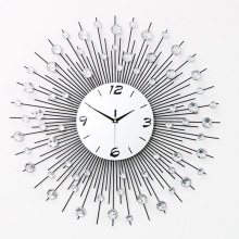 65CM-75CM Household Iron Wall Clock Modern Design Mute Living Room/Bedroom Clock Wall Large Home Decor Wall Watch Moderne Clocks