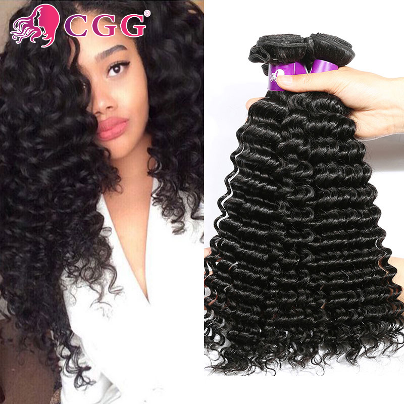 Malaysian Deep Wave Hair Grade 7A Unprocessed Virgin Hair 4 Bundles Deals Malaysian Hair Deep Wave Human Hair Weaving No Tangle<br><br>Aliexpress