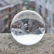 30mm Crystal Ball Ornaments Clear Natural Quartz Sphere  Home Decoration Accessories Wedding Party Gifts  Feng Shui Ball Z003