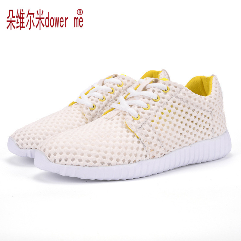 2017 NEW Network Breathable Women Casual Shoes Summer Female Air Mesh Outdoor Shoes Lady Lace-up Shoe FY#1C<br><br>Aliexpress