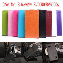 9 Colors Vertical Up Down Open Flip PU Leather Case Cover For Blackview BV6000 Phone Cases Bags Protective Shell With Card Slots