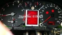 Promotion Newest  LCD Cluster Display For AUDI TT S3 A6 VW VDO display OEM Jeager