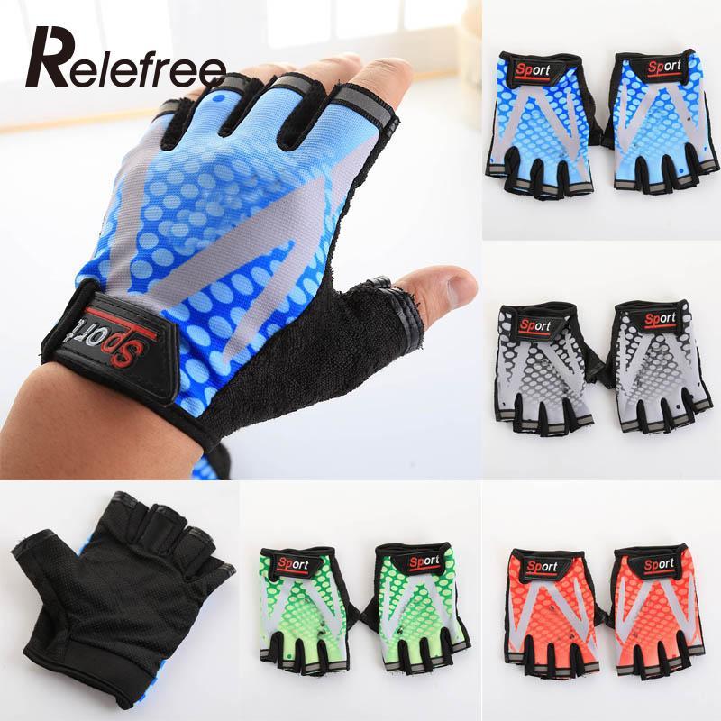 2pcs Cycling Gloves MTB Bicycle GEL Shockproof Half finger Motorbike Anti-skid waterproof Practical Safe For men women kid sport<br><br>Aliexpress