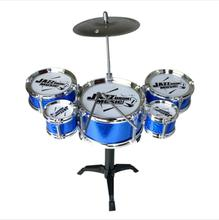 Children toy drum set 3/5drums music early education simulation drum training percussion instruments(China)