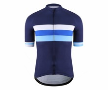 SPEXCEL Classic mesh Breathable pro short sleeve cycling jerseys High quality bicycle shirt blue stripe design bicycle equipment(China)