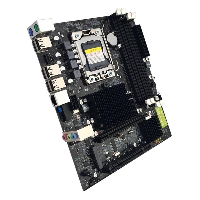 Интернет магазин товары для всей семьи HTB1ugDjavfsK1RjSszgq6yXzpXak X58 рабочего Материнская плата LGA 1366Pin DDR3 компьютер материнская плата для L/E5520 X5650 RECC для Intel Core i7 M-SATA 1333 МГц