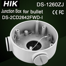 DS-1260ZJ Hikvision Junction Box for bullet camera DS-2CD2642FWD-I, DS-2CD2632F-I Bracket CCTV Camera housing CCTV Accessories