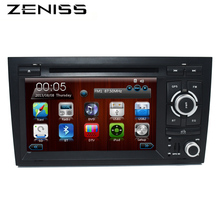"FreeShipping 2 Din 7"" Car DVD GPS for Audi A4 2002 2003 2004 2005 2006 2007 S4 RS4 8E 8F B9 B7 RNS-E 2DIN DVD A4 Navigation"
