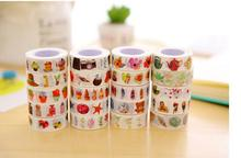 20pcs masking tape paper tape original watercolor hand account feng tape photo diary decoration diy color tape(China)