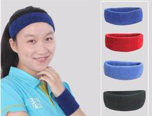 1pcs Outdoor sports breathable sweat belt headband men and women cotton sports care head yoga sweat sweat riding head belt