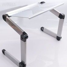 1pc Laptop Desk 360 Degree Adjustable Folding Laptop Notebook Desk Table Stand Portable Bed Tray D5