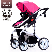 2017 Babypanda Store baby tricycle infant strollers for babies luxury children bicycles with mosquito net 2 in 1 lagre basket