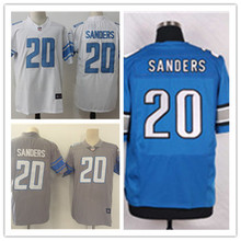 Mens 20 Barry Sanders Jersey 2017 Rush Salute to Service High Quality Football Jerseys(China)