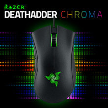 Razer Deathadder Gaming Mouse 3.5G (Blue Light), 2013 ( Green LIght), Chroma (Red Option), Original Brand New item, In Stoc