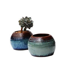 New Arrival Classic Kiln Ceramic Pots Succulent Flowerpot Indoor Or Outdoor Lascape Decoration For Garden CJE07