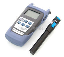 2 In 1 FTTH Fiber Optic Tool Kit with Optical Power Meter and 10MW Visual Fault Locator Optical Fiber Checker Laser Tester Pen(China)