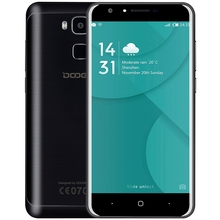 Original DOOGEE Y6C Android 6.0 5.5 inch 4G Smartphone Phablet MTK6737 1.3GHz Quad Core 2GB + 16GB 8.0MP Front Back Camera Phone(China)