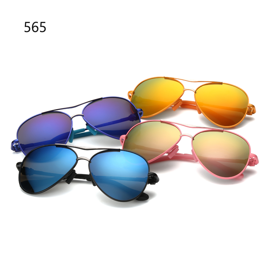 Pilot Polarized Kids Sunglasses Alloy Children Sun Glasses 565 Mirror Glasses For Girls And Boys Lentes De Sol 6 Colors<br><br>Aliexpress