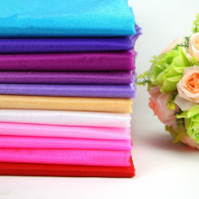 0.75*5M Sheer Mirror Silk Organza Roll Wedding Decoration Runner Swag Chair Sash Bow Table Chenille Crystal Organza Fabric
