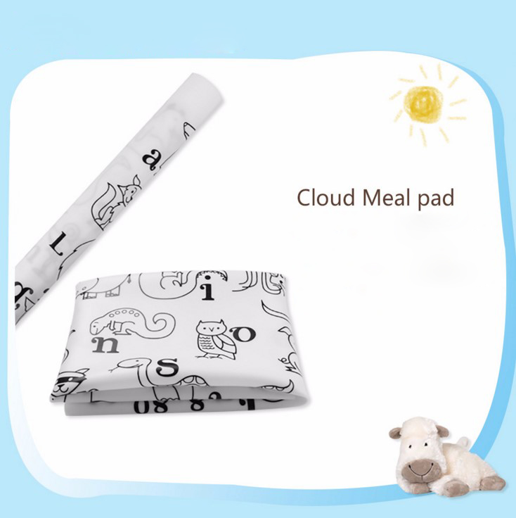 2018 New Creative Silicone Placement Fda Mat Baby Kids Animal Plate ...