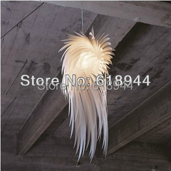 2013 Modern Brief Romantic and Fashion PP Feather Pendant Lights Bedroom Lighting Designs Art Deco<br>